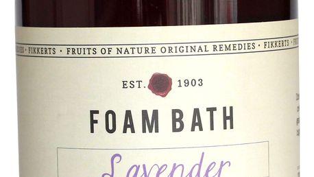 FIKKERTS Pěna do koupele Lavender 500ml, hnědá barva, plast