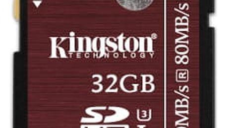 Paměťová karta Kingston 32GB UHS-I U3 (90R/80W) (SDA3/32GB)