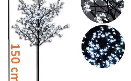 Nexos 1122 Dekorativní LED osvětlení - strom s květy 1,5 m