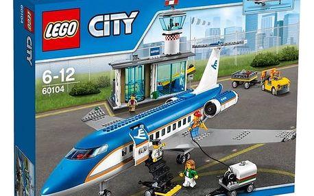 Stavebnice LEGO® City Letiště 60104 terminál pro pasažéry + Doprava zdarma
