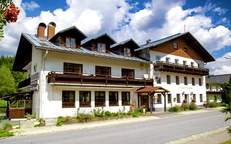 3 až 4denní last minute pobyt s půjčením kol pro 2 v hotelu Lesní dům v Bavorském lese