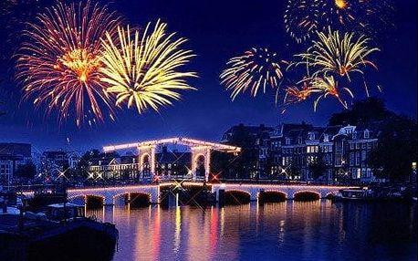 Romantický SILVESTR v Amsterdamu! 4 denní zájezd s ubytováním, dopravou a průvodcem