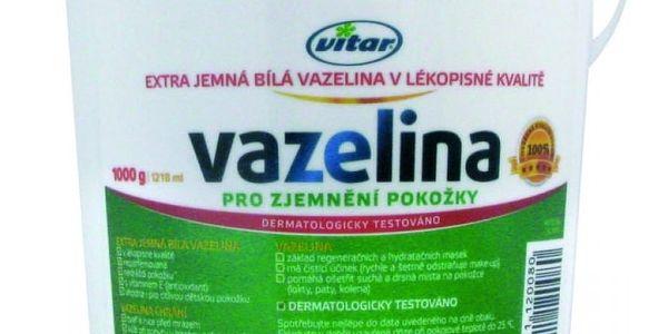 VITAR Vazelina extra jemná bílá 1000 g