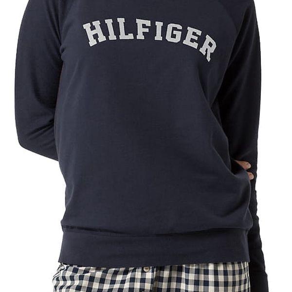 Tommy Hilfiger tmavě modrá dámská mikina LWK Track Top