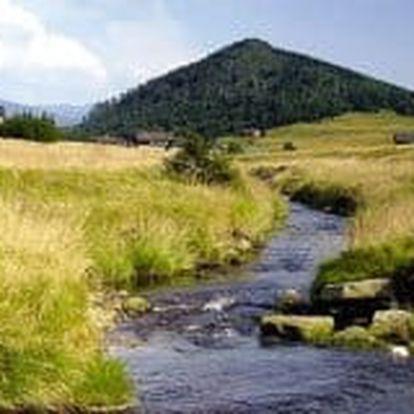Jizerské hory s polpenziou, saunou a horskými bicyklami pre dvoch alebo rodinu
