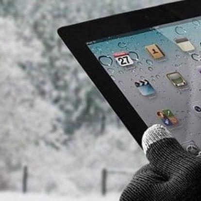 Zimní rukavice na dotykový displej