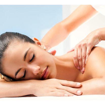 Stop bolesti zad: klasická masáž až 90 minut