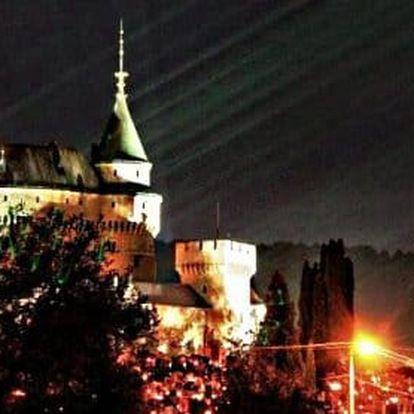 Pobyt u Bojnickém zámku v 3 * hotelu s polopenzí i wellness