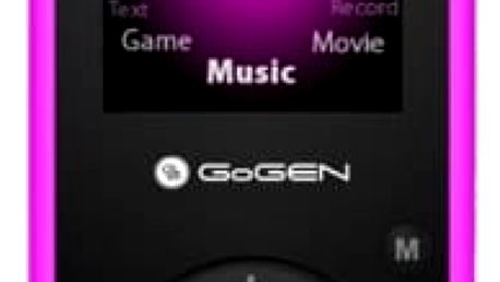 MP3 přehrávač GoGEN Maxipes Fík MAXI MP3 P růžový