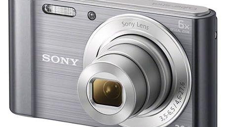 Digitální fotoaparát Sony DSC-W810S stříbrný