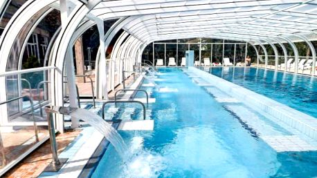 Hévíz ve 3* hotelu Aquamarin s wellness