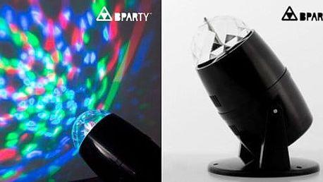 Barevný LED projektor pro skvělé večírky
