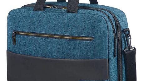 "Samsonite American Tourister CITY DRIFT 3-WAY BOARDING BAG 15.6"", černá/modrá - 28G*19005"