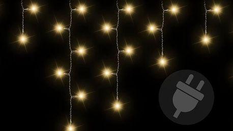 Nexos 38532 Vánoční světelný déšť 200 LED teple bílá - 4 m