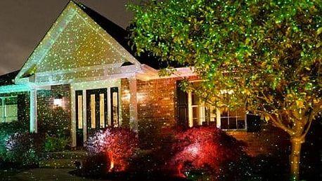 Star Shower - laserová dekorační lampa