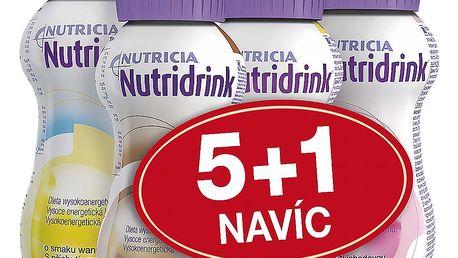 NUTRIDRINK balíček 5+1 různé příchutě 6x200 ml