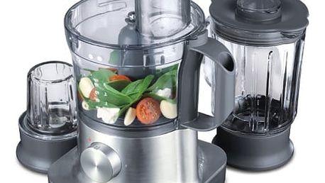 Kuchyňský robot Kenwood MultiPro FPM260 stříbrný
