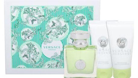 Versace Versense dárková kazeta pro ženy toaletní voda 50 ml + tělové mléko 50 ml + sprchový gel 50 ml