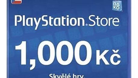 Předplacená karta Sony PlayStation Live Cards 1000Kč - pouze pro CZ PS Store (PS719894032)