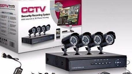 Kamerový systém se 4-mi kamerami