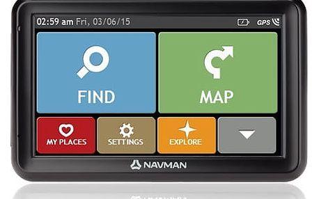 MIO Navigační systémy Navman 5000 LT GPS mapy EU Lifetime