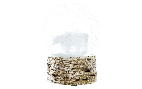 Talking Tables Sněžítko Nordic, bílá barva, sklo