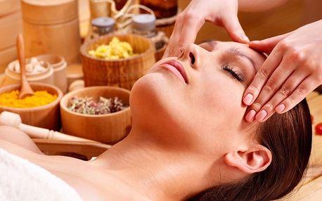 2hodinový balíček–masáž, kosmetika lymfodrenáž