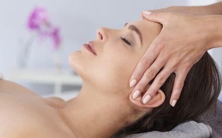 Ošetření pleti + masáž obličeje lávovými kameny