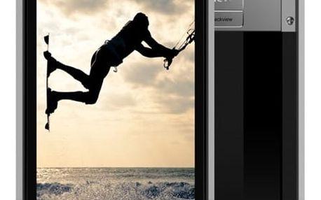 Mobilní telefon iGET GBV8000 Pro (84000415) titanium + DOPRAVA ZDARMA