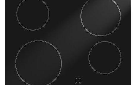 Sklokeramická varná deska Gorenje ECT610SC černá
