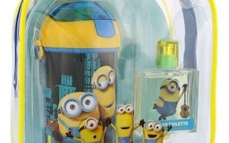 Minions Minions dárková kazeta toaletní voda 50 ml + láhev na vodu + batoh