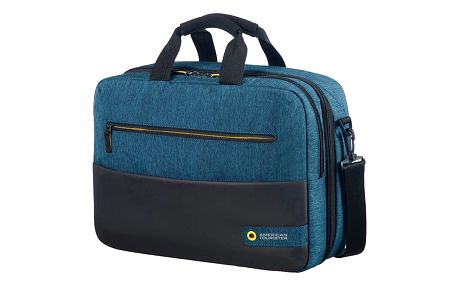 "Samsonite American Tourister CITY DRIFT 3-WAY BOARDING BAG 15.6"", černá/modrá - 28G*19005"
