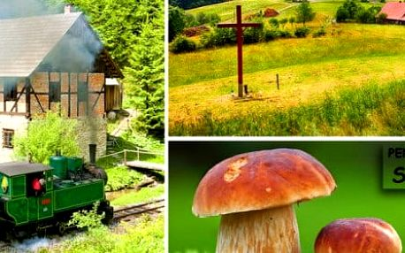 Penzion Skalovka a nedotčená příroda Kysuc
