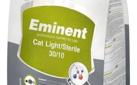 Granule Eminent Cat Light/Sterile 10 kg + Doprava zdarma