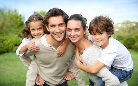 Originální rodinná trička: 3 nebo 4 ks, různé motivy