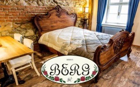 Dům Berg - Banská Štiavnica - výjimečné ubytování s kouzelnou atmosférou v národní kulturní památce