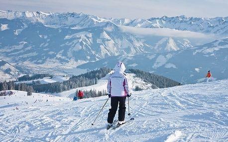 Rakouské Alpy v penzionu se snídaní
