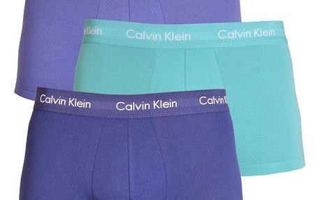3PACK pánské boxerky Calvin Klein barevné M
