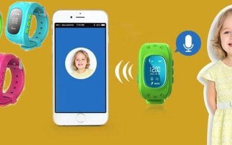 Dětské hodinky s GPS lokalizací