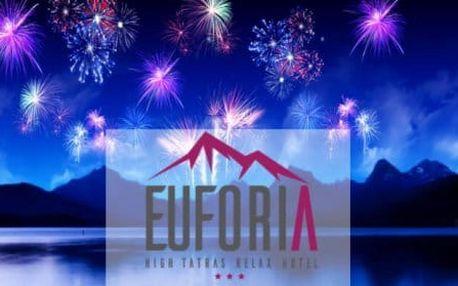 Vysoké Tatry, Silvestr a skvělá zábava - to je Hotel Eufória***