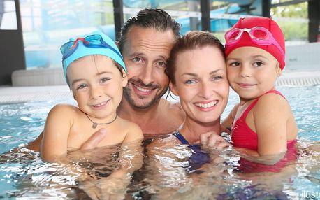 Alžbětiny lázně: 990 minut plavání i wellness
