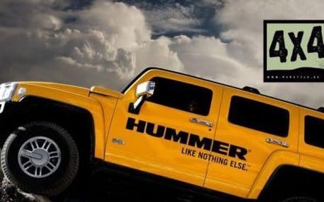 Hummer H2 nebo Nissan Patrol - 20-30 minutová jízda offroadem