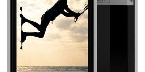 Mobilní telefon iGET GBV8000 Pro (84000415) titanium Software F-Secure SAFE, 3 zařízení / 6 měsíců v hodnotě 979 Kč + DOPRAVA ZDARMA