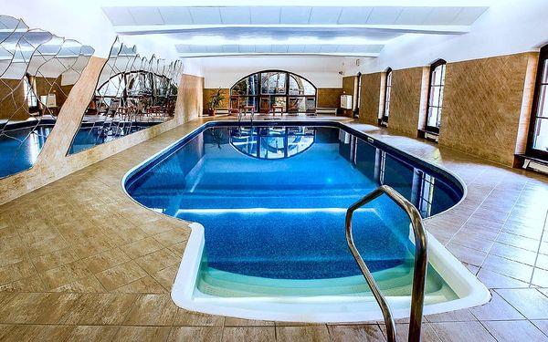 Vysočina pro dva s neomezeným bazénem v hotelu Šiškův mlýn****