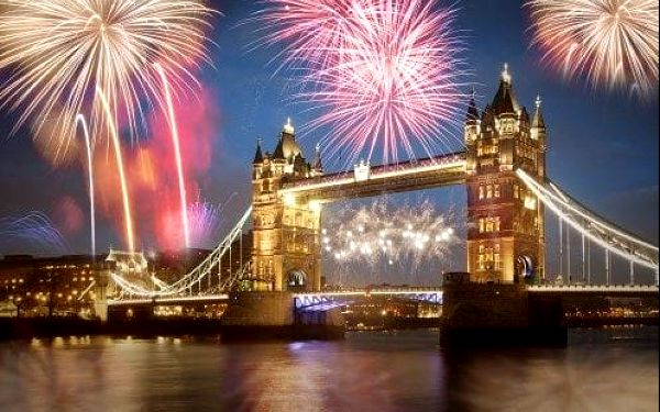 Oslavte SILVESTR v Londýně! 4 denní zájezd: ubytování, průvodce a doprava.