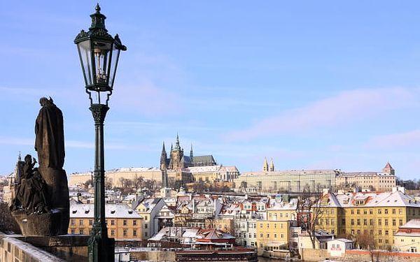 Praha v klidném hotelu včetně polopenze