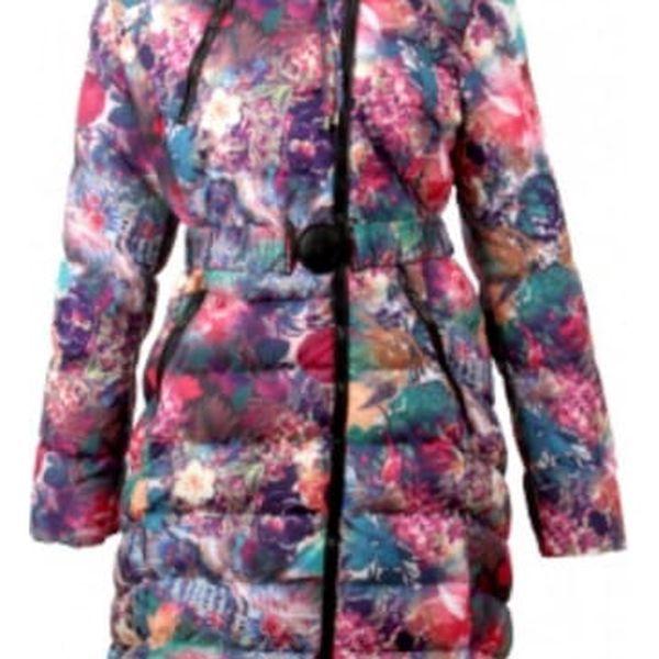 Dámský prošívaný kabát Aquarelle - VÝPRODEJ