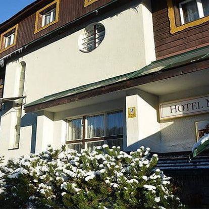 3–6denní wellness pobyt pro 1, 2 či rodinu v hotelu Maxov*** v Jizerkách