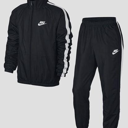 Souprava Nike M NSW TRK SUIT WVN SEASON Černá