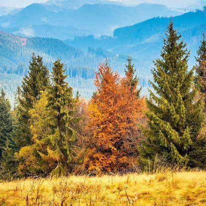 Podzimní Beskydy s polopenzí, saunou i fitness